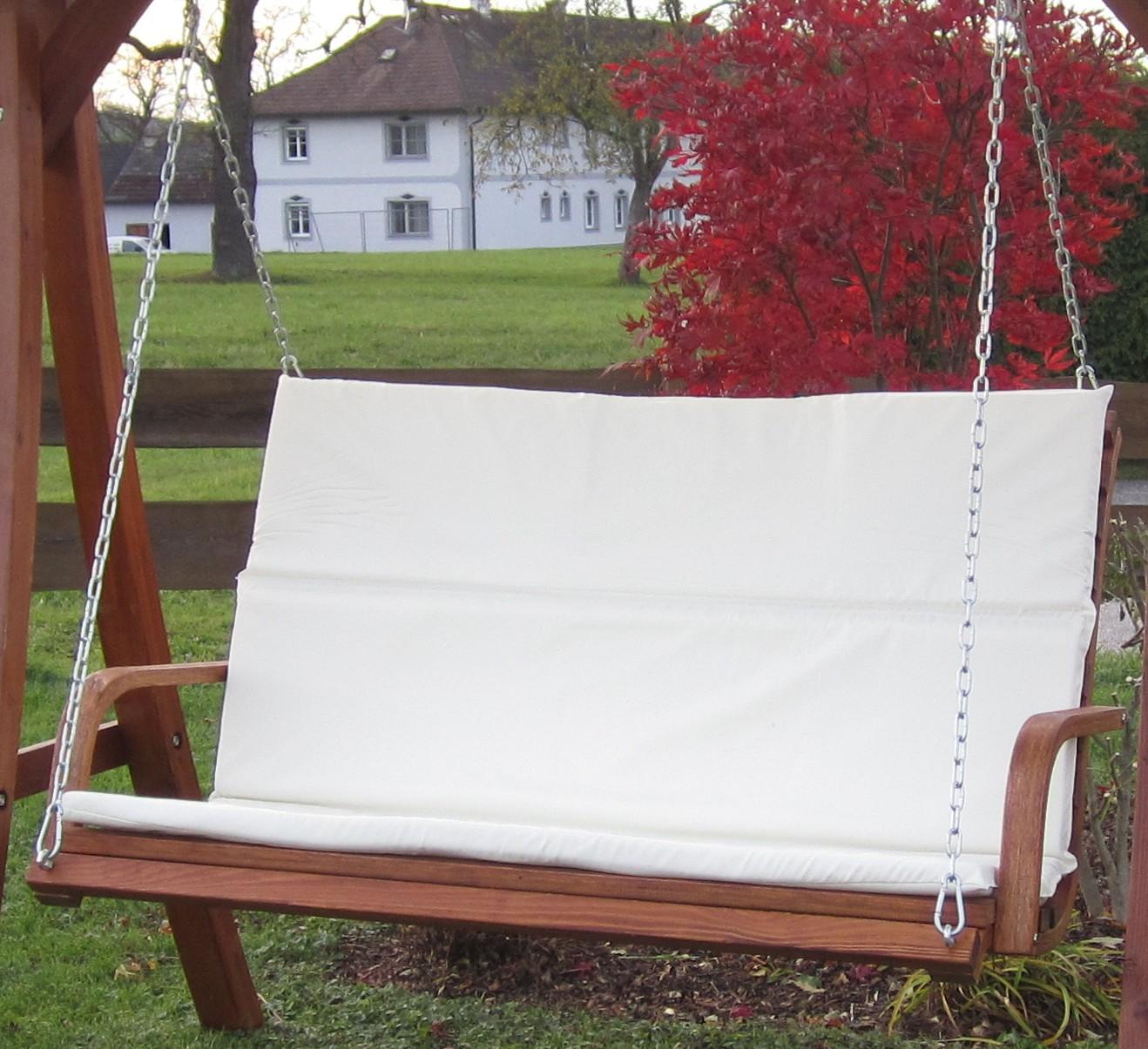 design bank aus holz l rche f r hollywoodschaukel 2 sitzer kuredo ohne gestell alles f r. Black Bedroom Furniture Sets. Home Design Ideas